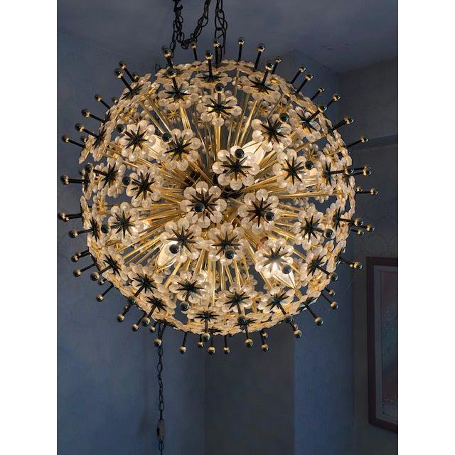Mid-Century Modern Mid 20th Century Swarovski Schonbek Sputnik Chandlier For Sale - Image 3 of 13