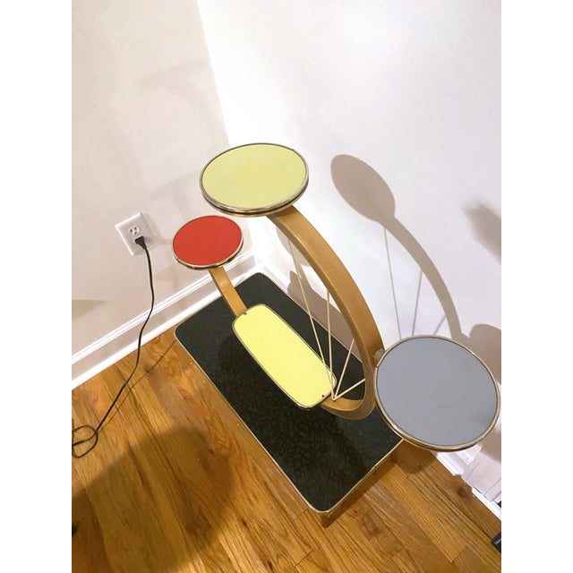 Authentic Mid-Century Modern German Three Tiered Plant Stand For Sale - Image 4 of 13