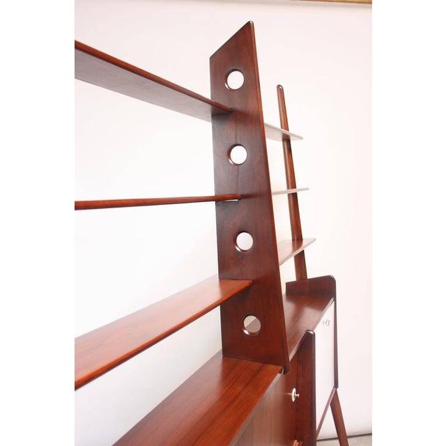 Mid-Century, Italian Modern Freestanding Wall Unit - Image 7 of 10