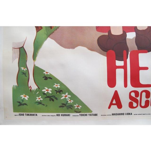 1985 Original Oversize Movie Poster (Italian Version) - Heidi For Sale - Image 4 of 6
