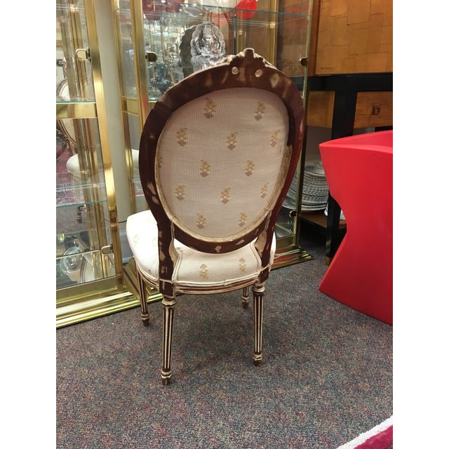 Antique French Dining Chairs - Set of 6 For Sale - Image 5 of 8