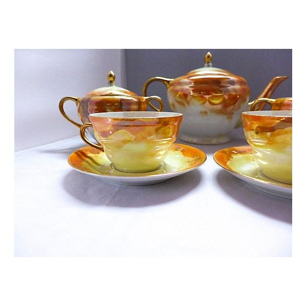 Lusterware Tea for Two Set - Image 5 of 8