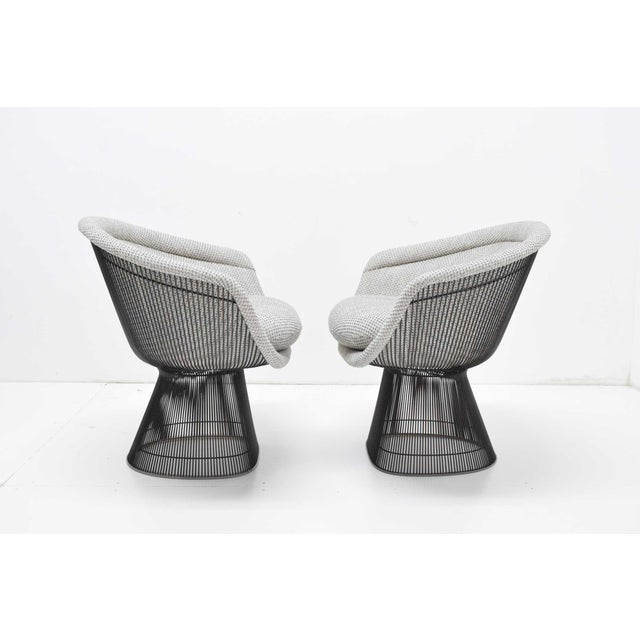 We have a beautiful set of lounge chairs which dates 1960s when the Platners first made their debut in 1966 and bears the...