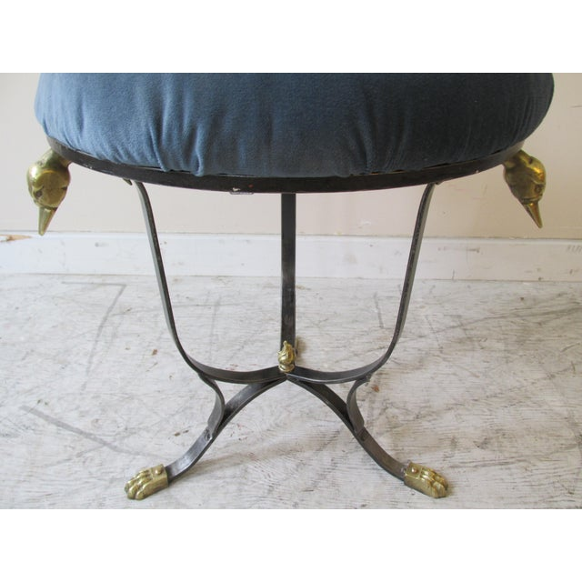Vintage Neoclassical Style Stool - Image 3 of 9