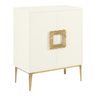 Mitchell Cabinet, Cloud White For Sale