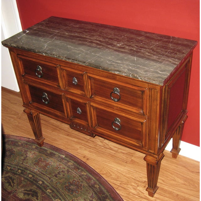 Ethan Allen Tuscany Bonner Console Table - Image 8 of 11