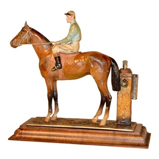 19th Century English Jockey Striker For Sale