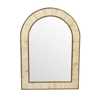 Arched Inlay Mirror For Sale