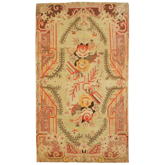 "Antique Samarkand Rug - 5'1"" x 8'5"" For Sale"