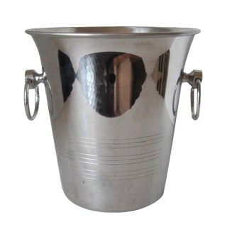 French Stainless Ice Bucket