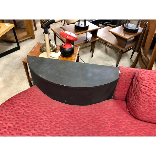 Mid-Century Modern Vintage Mid Century Adrian Pearsall Curved Sofa For Sale - Image 3 of 8