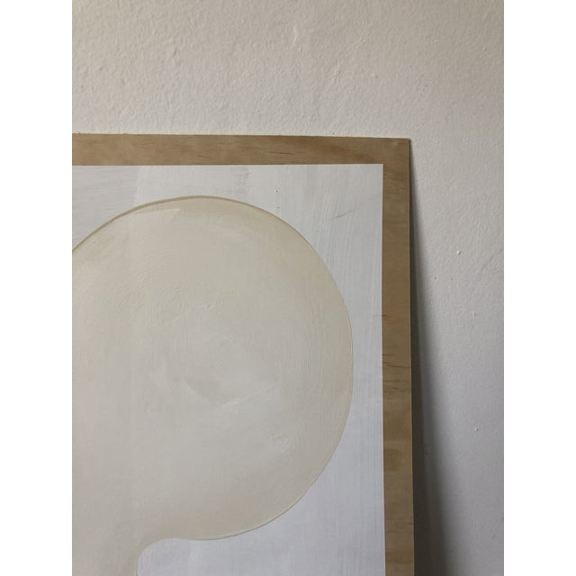 2010s Self Portrait Acrylic on Plywood For Sale - Image 5 of 11