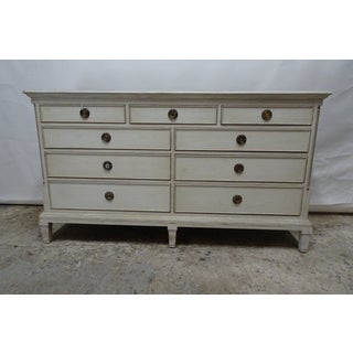 Gustavian Style 9 Drawer Chest Preview