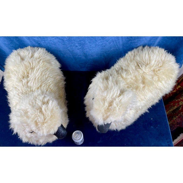 Late 20th Century Lalanne Style Sheep Footstools - a Pair For Sale - Image 9 of 11