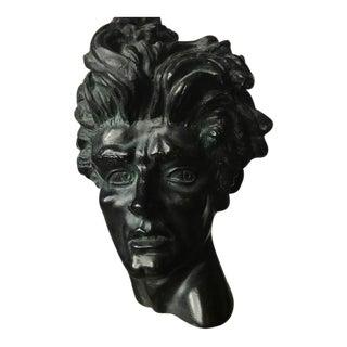 Edward Melcarth Heroic Head Sculpture