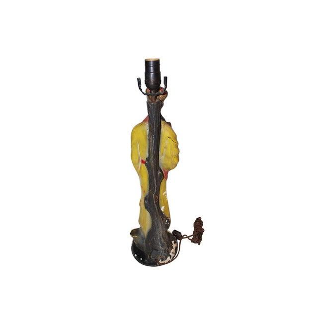 Vintage Asian Figural Lamp Base For Sale - Image 4 of 4