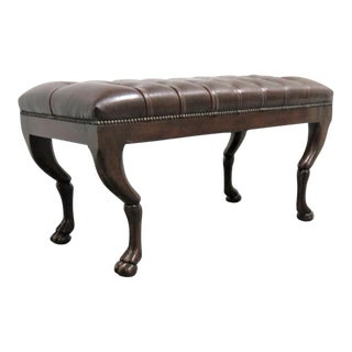 Neoclassical Theodore Alexander Chesterfield Bench For Sale