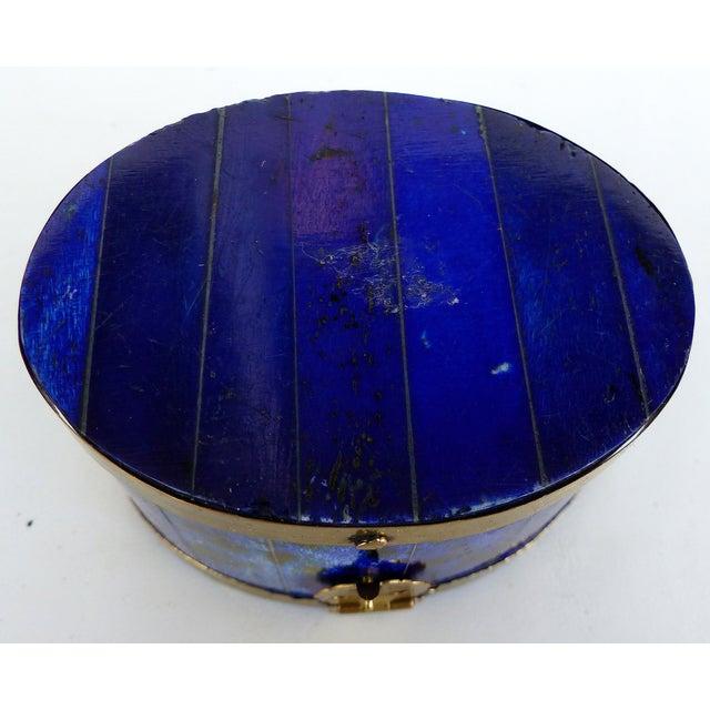 Lapis Hue Trinket Box - Image 5 of 6