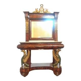 Spanish Empire Pier Console For Sale