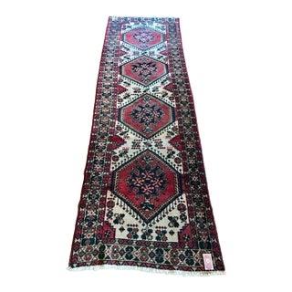 Antique Persian Heriz Runner - 3′3″ × 9′9″