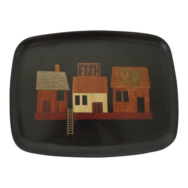 Vintage Couroc Serving Tray - Image 1 of 6