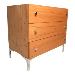Midcentury Three-Drawer Chest by Milo Baughman for Thayer Coggin For Sale