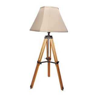 Vintage Adjustable Tripod Lamp For Sale