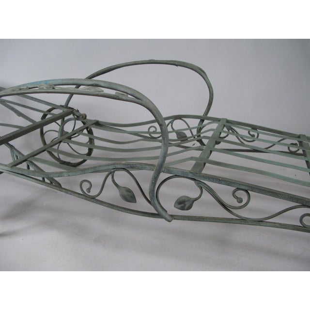 Wrought Iron Chaise Lounges by Salterini, Circa 1950 - a Pair For Sale In New York - Image 6 of 9