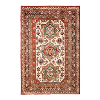 """One-of-a-Kind Traditional Hand-Knotted Area Rug 5' 10"""" x 8' 8"""" For Sale"""