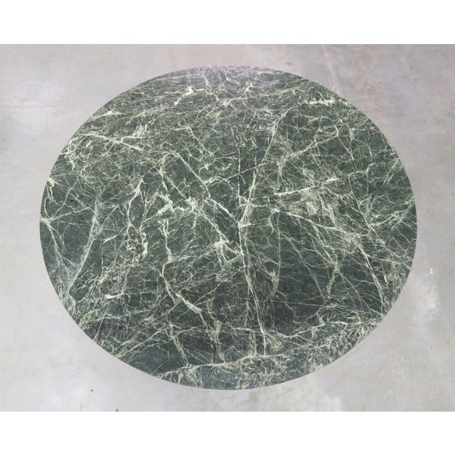 Ornate French Bronze Marble Top Center Table - Image 3 of 4