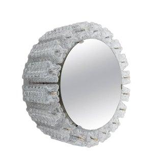 1960s Vintage Austrolux Illuminated Backlit Mirror For Sale