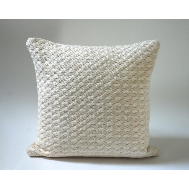 Cloud Bobble Heavy Woven Pillow Cover For Sale - Image 5 of 5