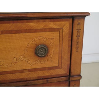 Lillian August Inlaid Adam Style Secretary Chest Preview