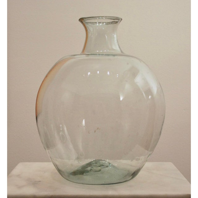 Rustic Oversize Glass Demijohn / Carboy For Sale - Image 9 of 10