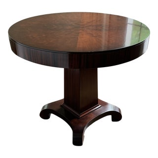 1800s Empire Style Accent English Antique Table For Sale