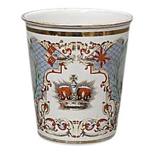 1897 Queen Victoria Enamel Beaker For Sale