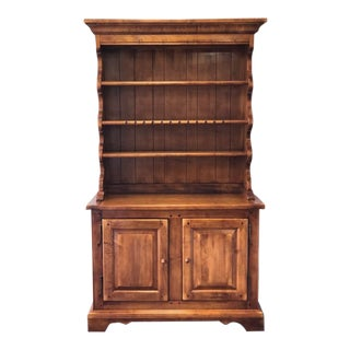Henry Link Solid Maple Open Hutch For Sale