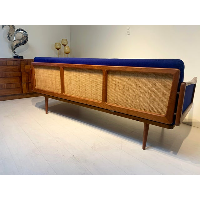 This gorgeous mid century modern sofa is by Peter Hvidt and Orla Mølgaard and was imported for John Stuart. This sofa...