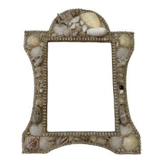 Vintage Shell Encrusted Frame For Sale