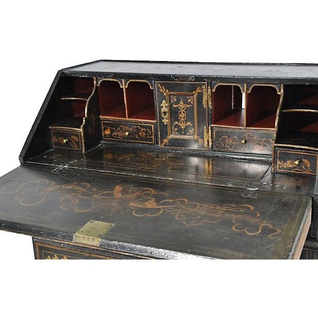 Antique 19th-C. English Chinoiserie Desk - Image 4 of 6