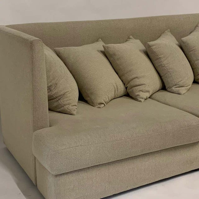Mid-Century Modern Milo Baughman Shelter Sofa - Excellent For Sale - Image 3 of 11