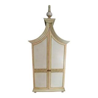 Art Nouveau Classic Style Armoire For Sale