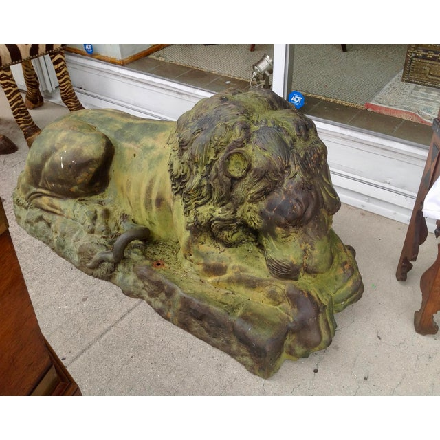 Pair of Lions For Sale - Image 4 of 13
