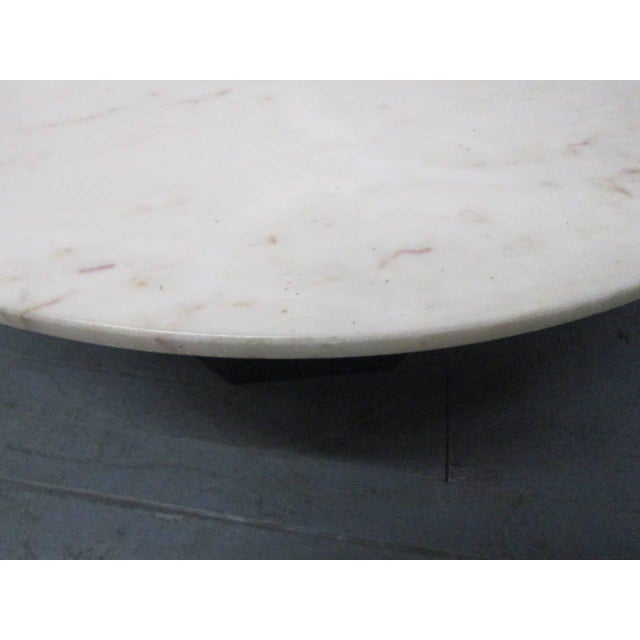 Marble Top Coffee Table For Sale In New York - Image 6 of 8