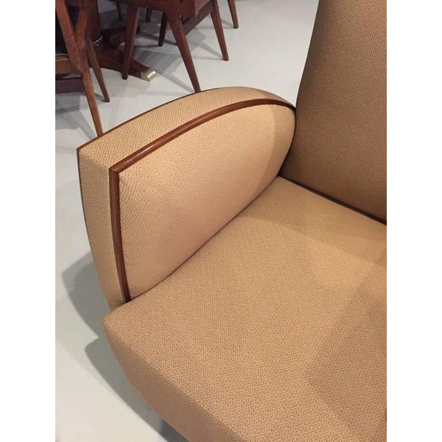 French Art Deco Club Chairs - A Pair - Image 8 of 9