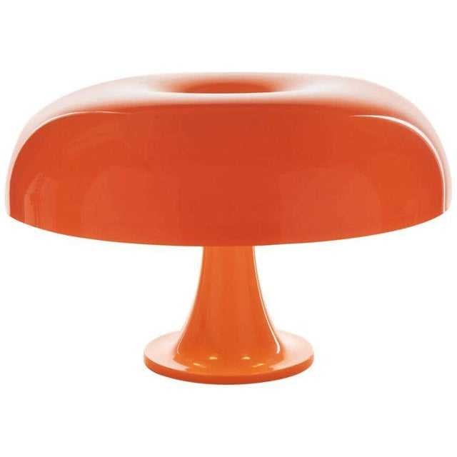 Not Yet Made - Made To Order Giancarlo Mattioli 'Nesso' Table Lamp in Orange for Artemide For Sale - Image 5 of 5