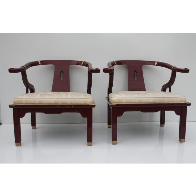 James Mont Chairs by Century a Pair. - Image 2 of 8
