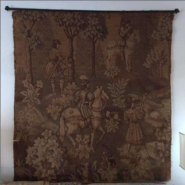 Hunt Scene Tapestry - Image 3 of 3