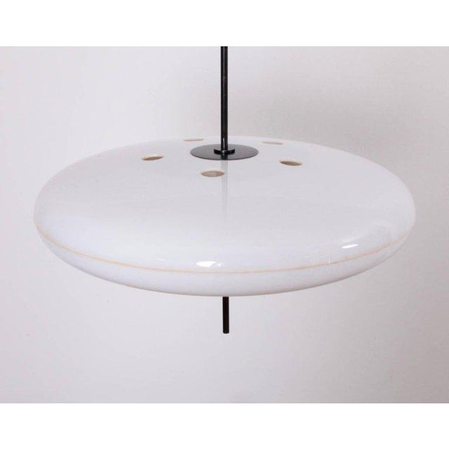Italian Gino Sarfatti Ceiling Light, Model No. 2065 GF for Arteluce For Sale - Image 3 of 7
