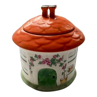 1930s Booth China Covered Cookie Jar For Sale